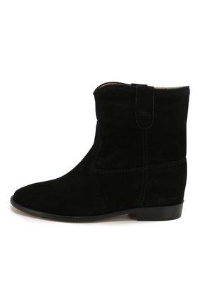 Женские замшевые ботинки crisi ISABEL MARANT черного цвета, арт. CRISI/B00103-00M103S | Фото 3