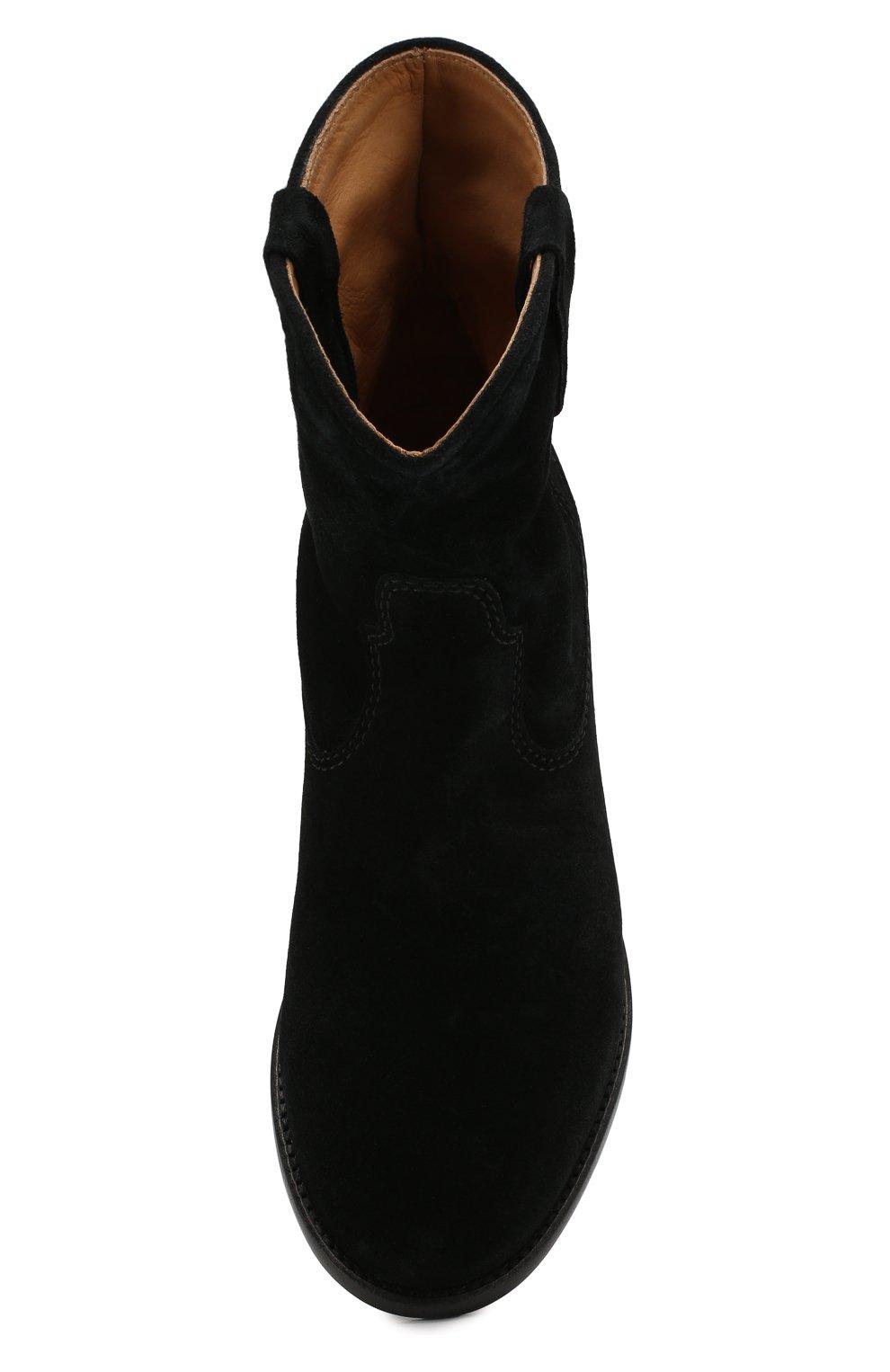 Женские замшевые ботинки crisi ISABEL MARANT черного цвета, арт. CRISI/B00103-00M103S | Фото 5