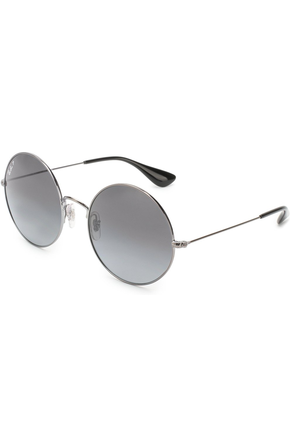 Женские солнцезащитные очки RAY-BAN серебряного цвета, арт. 3592-004/T3 | Фото 1