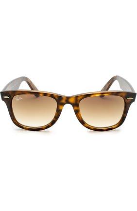 Женские солнцезащитные очки RAY-BAN коричневого цвета, арт. 4340-710/51 | Фото 2