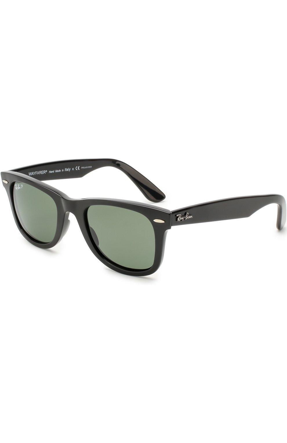 Женские солнцезащитные очки RAY-BAN черного цвета, арт. 4340-601/58   Фото 1
