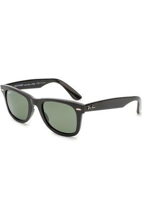 Женские солнцезащитные очки RAY-BAN черного цвета, арт. 4340-601/58 | Фото 1