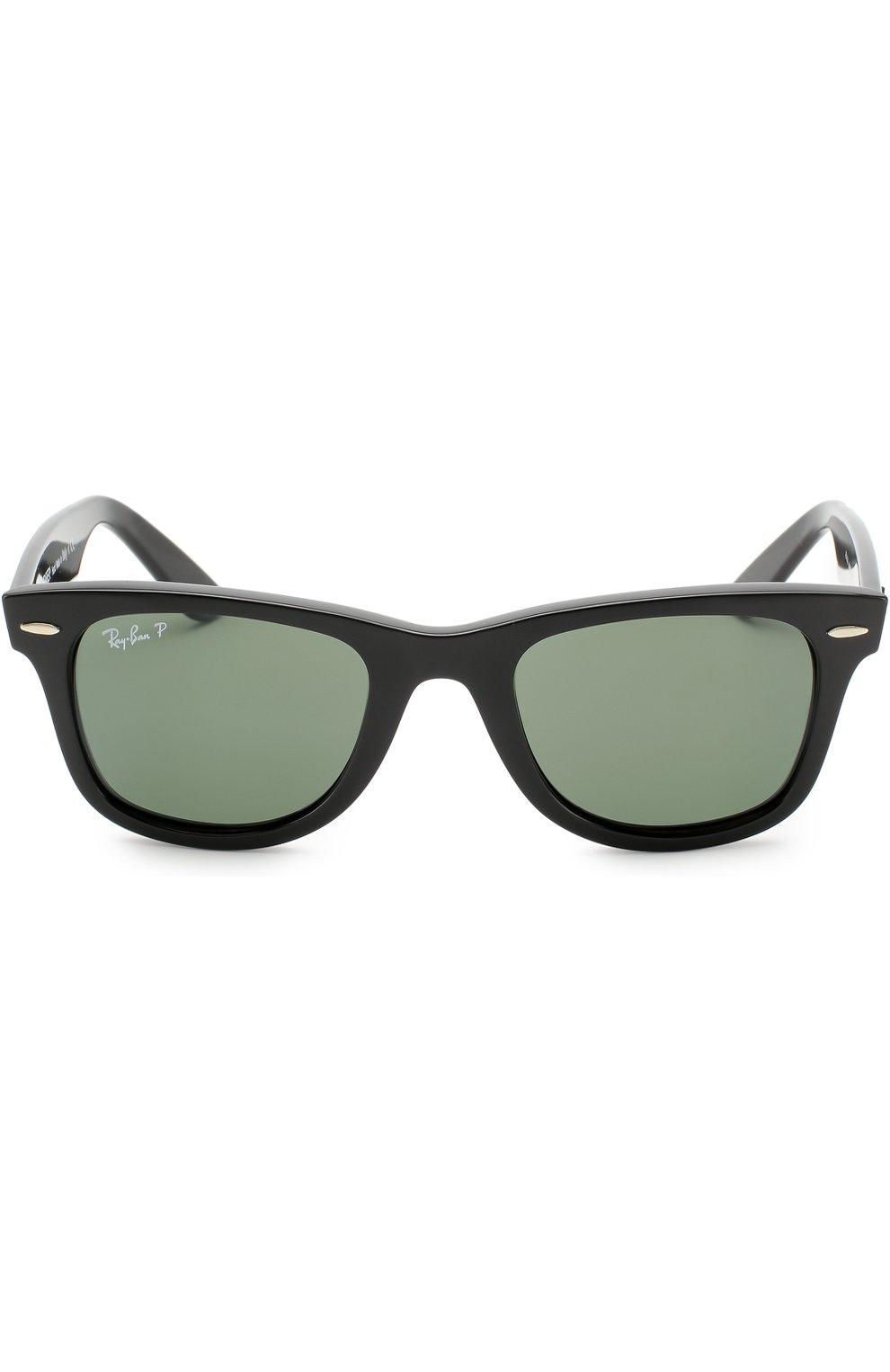 Женские солнцезащитные очки RAY-BAN черного цвета, арт. 4340-601/58   Фото 2