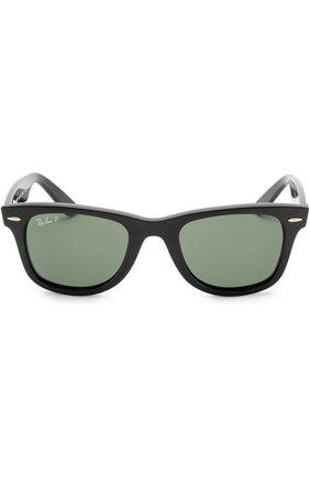 Женские солнцезащитные очки RAY-BAN черного цвета, арт. 4340-601/58 | Фото 2