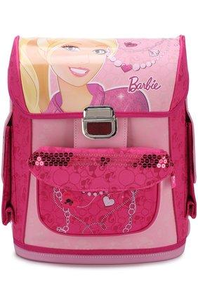 Ранец с принтом Barbie разноцветного цвета | Фото №1