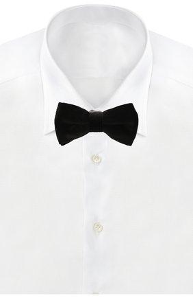 Мужской галстук-бабочка ETON черного цвета, арт. A000 30119 | Фото 2