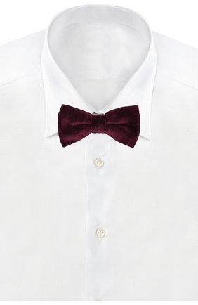 Мужской галстук-бабочка ETON бордового цвета, арт. A000 30119 | Фото 2