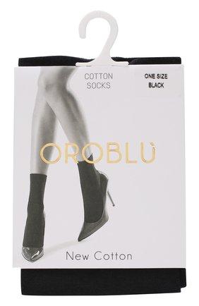 Женские капроновые носки OROBLU черного цвета, арт. V0BC01171 | Фото 1