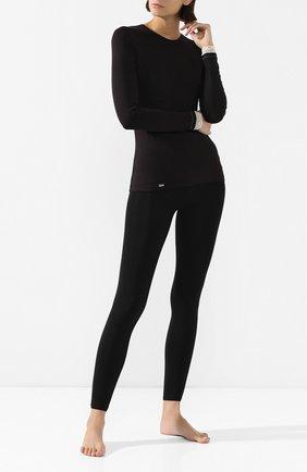 Женские леггинсы WOLFORD черного цвета, арт. 14473 | Фото 2