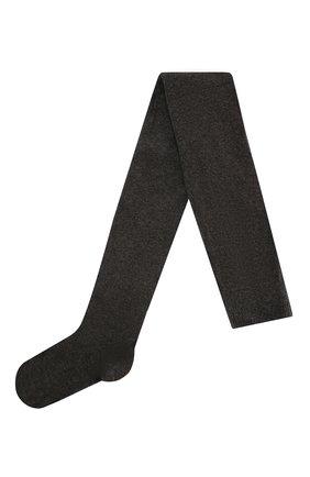 Женские хлопковые колготки OROBLU темно-серого цвета, арт. V0BFC10T0 | Фото 1