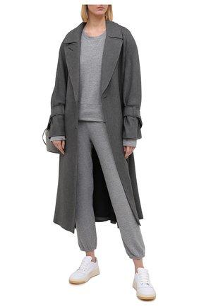 Женские джоггеры MONROW серого цвета, арт. HB006HFT | Фото 2