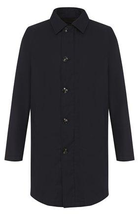 Шерстяное пальто на молнии прямого силуэта | Фото №1