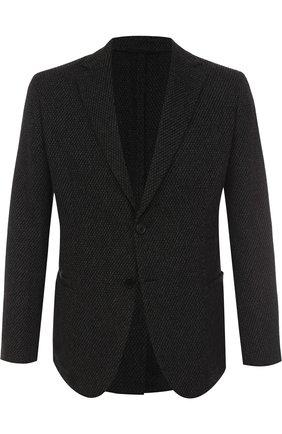 Однобортный кашемировый пиджак | Фото №1