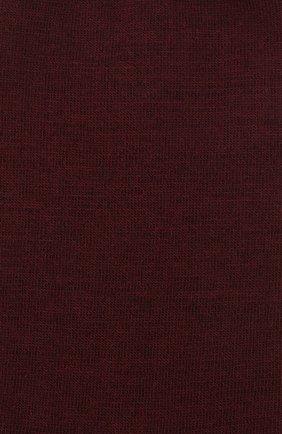 Женские однотонные шерстяные носки OROBLU бордового цвета, арт. V0BFW10S0 | Фото 2