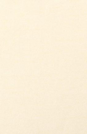 Женские однотонные шерстяные носки OROBLU бежевого цвета, арт. V0BFW10S0 | Фото 2