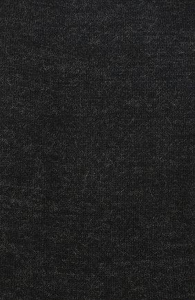 Женские однотонные шерстяные носки OROBLU темно-серого цвета, арт. V0BFW10S0 | Фото 2