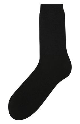 Женские однотонные шерстяные носки OROBLU черного цвета, арт. V0BFW10S0 | Фото 1
