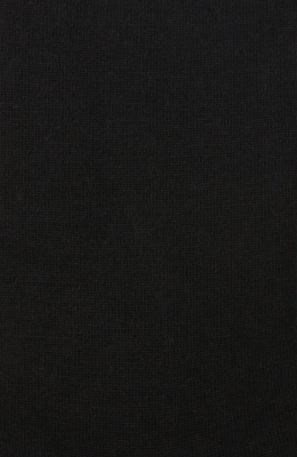 Женские однотонные шерстяные носки OROBLU черного цвета, арт. V0BFW10S0   Фото 2