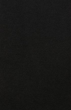 Женские однотонные шерстяные носки OROBLU черного цвета, арт. V0BFW10S0 | Фото 2
