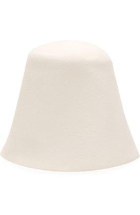 Фетровая шляпа Jacquemus кремвого цвета   Фото №1