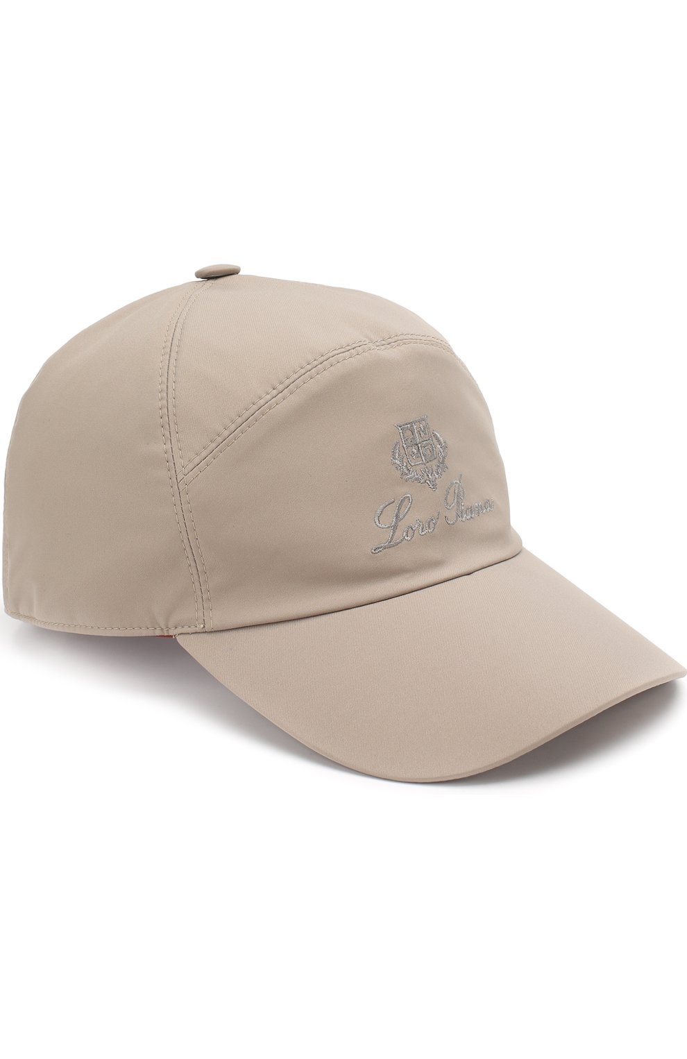 Мужской бейсболка с логотипом бренда LORO PIANA бежевого цвета, арт. FAF8517 | Фото 1