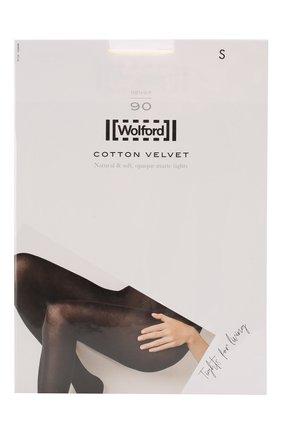 Женские капроновые колготки WOLFORD белого цвета, арт. 11130 | Фото 1