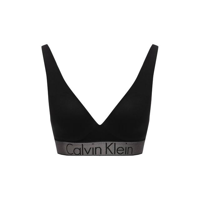 Треугольный бюстгальтер с логотипом бренда Calvin Klein