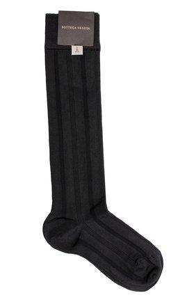 Шелковые носки в полоску   Фото №1