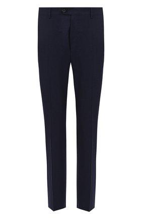 Мужской брюки из смеси шерсти и кашемира ANDREA CAMPAGNA синего цвета, арт. SC/1/VB2109 | Фото 1