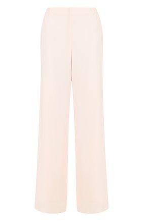 Однотонные расклешенные брюки | Фото №1