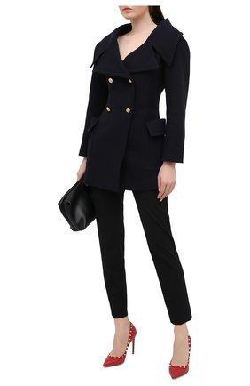 Женская кожаные туфли valentino garavani rockstud VALENTINO красного цвета, арт. PW2S0057/VCE | Фото 2