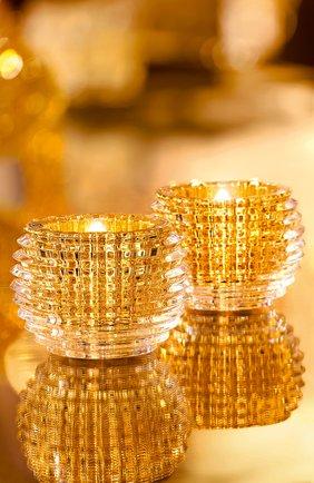 Мужской набор из двух подсвечников eye BACCARAT золотого цвета, арт. 2 811 841 | Фото 2