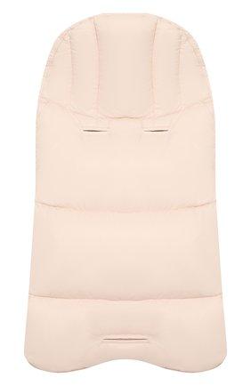 Детский пуховый конверт с логотипом бренда MONCLER ENFANT светло-розового цвета, арт. C2-951-00828-05-53079 | Фото 2