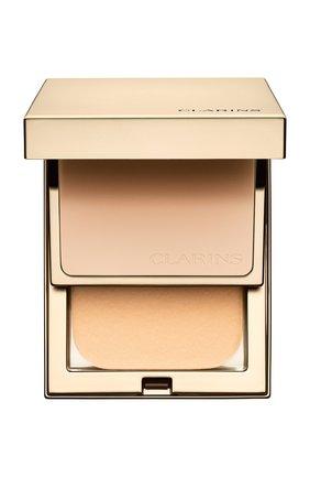 Женская устойчивая компактная пудра everlasting compact spf 9, оттенок 103 CLARINS бесцветного цвета, арт. 80027378 | Фото 1