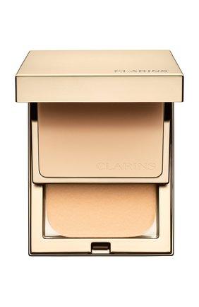 Женская устойчивая компактная пудра everlasting compact spf 9, оттенок 105 CLARINS бесцветного цвета, арт. 80027381 | Фото 1