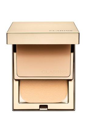 Устойчивая компактная пудра everlasting compact spf 9, оттенок 108 CLARINS бесцветного цвета, арт. 80027383   Фото 1