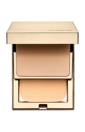 Устойчивая компактная пудра everlasting compact spf 9, оттенок 110 CLARINS бесцветного цвета, арт. 80027385   Фото 1
