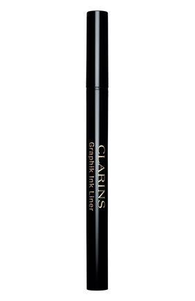 Женские подводка-фломастер для глаз graphik ink liner, оттенок 01 CLARINS бесцветного цвета, арт. 80026978   Фото 1