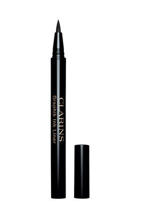 Женские подводка-фломастер для глаз graphik ink liner, оттенок 01 CLARINS бесцветного цвета, арт. 80026978   Фото 2