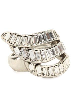 Кольцо с отделкой из кристаллов | Фото №1