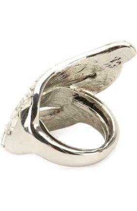 Кольцо с отделкой из кристаллов | Фото №2