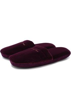 Комбинированные домашние туфли | Фото №1