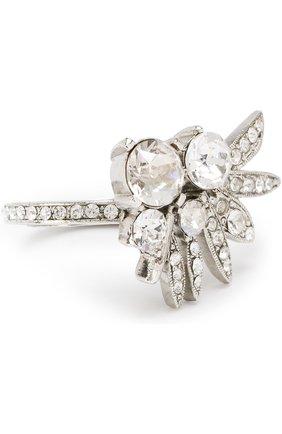 Кольцо с отделкой кристаллами Swarovski | Фото №1