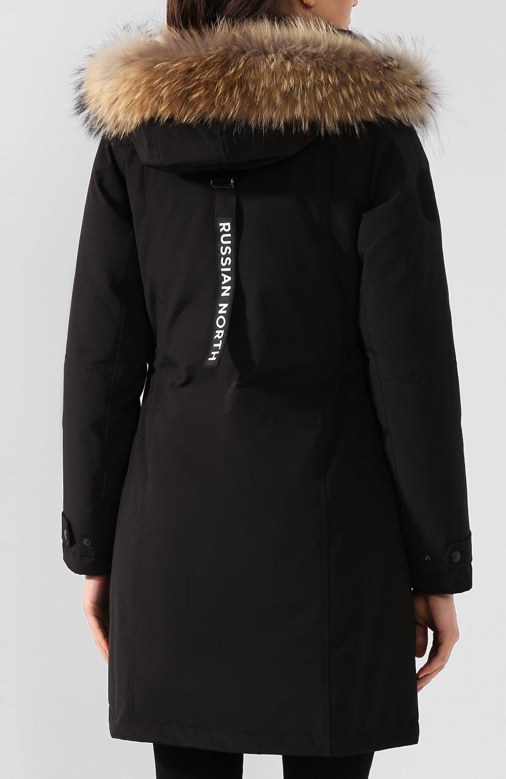 Женская пуховая парка ARCTIC EXPLORER черного цвета, арт. VERA_BLK | Фото 4