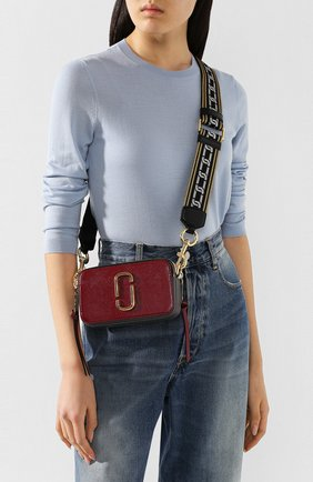 Женская сумка snapshot small MARC JACOBS (THE) бордового цвета, арт. M0012007 | Фото 2