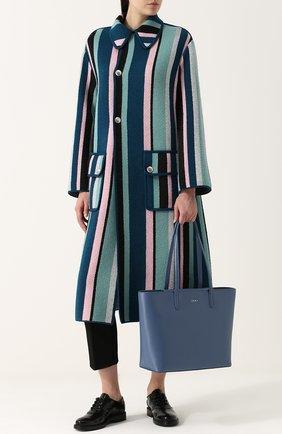 Сумка-шоппер Bryant Park DKNY голубая | Фото №1