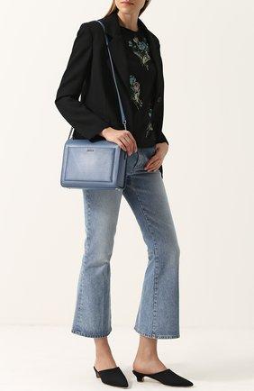 Сумка Medium Box DKNY бежевая | Фото №1