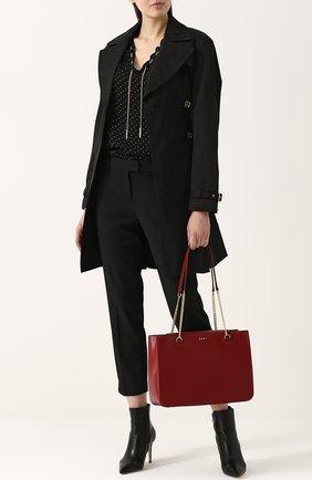 Сумка-шоппер Bryant Park DKNY бежевая | Фото №1