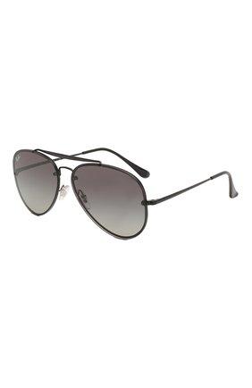 Мужские солнцезащитные очки RAY-BAN черного цвета, арт. 3584N-153/11 | Фото 1