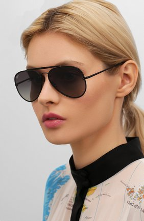 Мужские солнцезащитные очки RAY-BAN черного цвета, арт. 3584N-153/11 | Фото 2